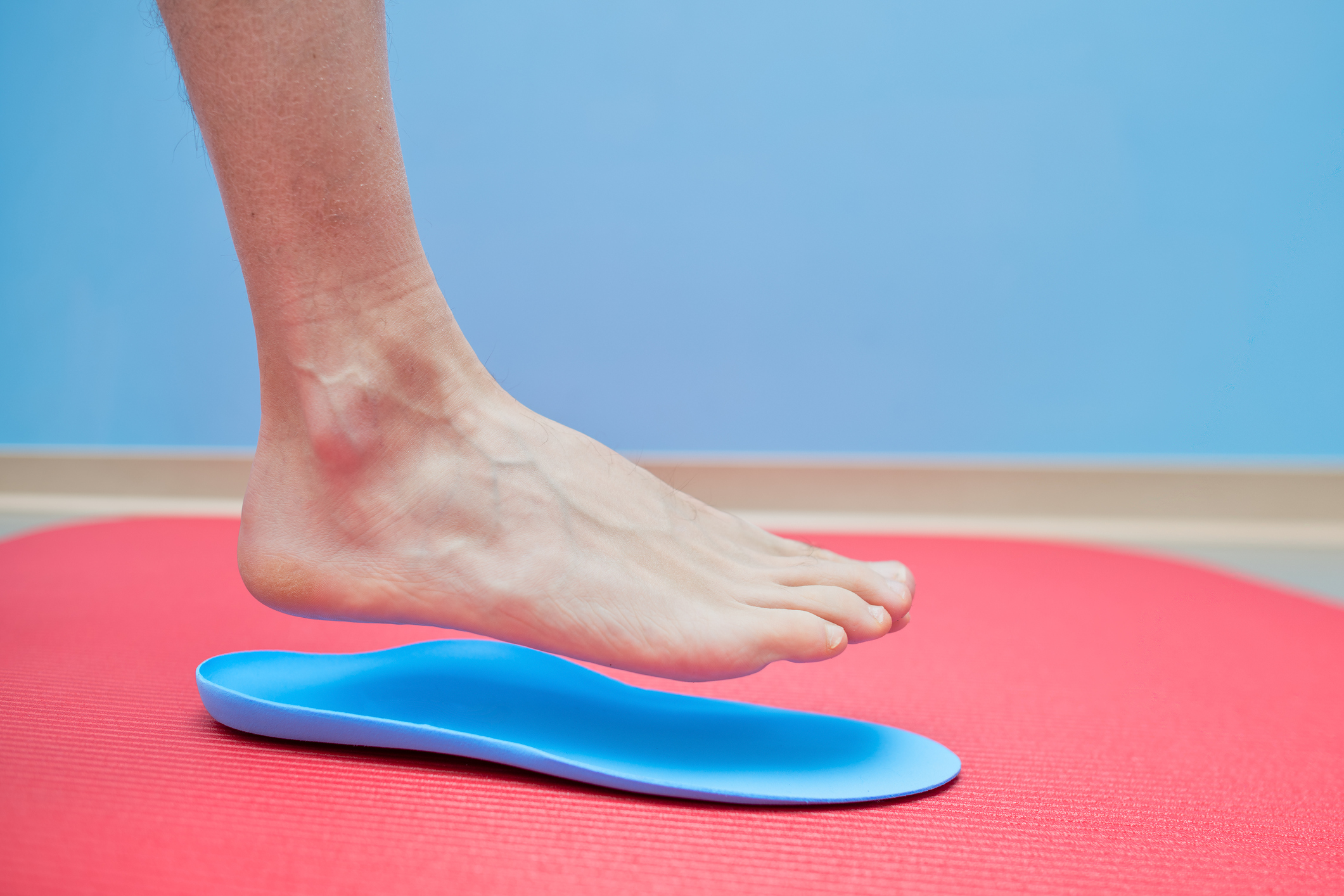 足の歪みとインソールの重要性