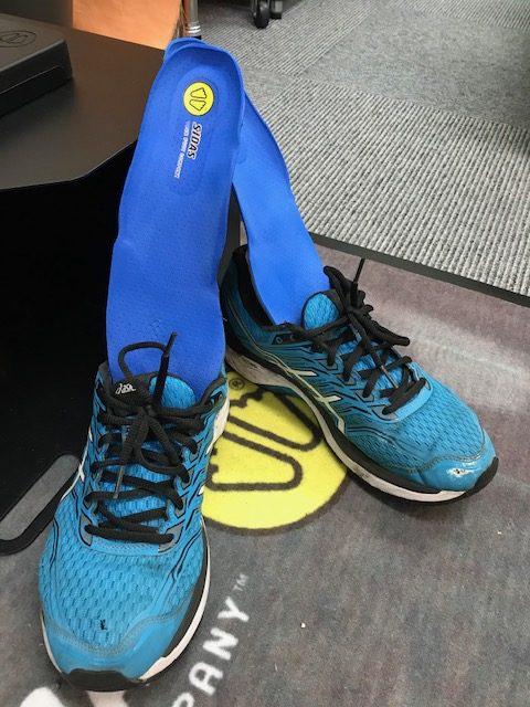 【マラソンランナー注目!】膝の痛みをカスタムインソールでカバー!!