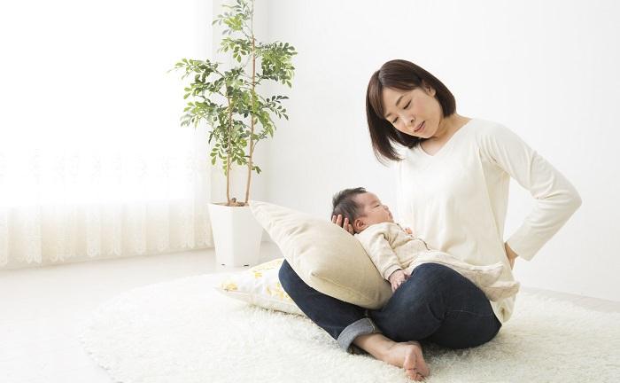 産後の体型の変化による腰痛