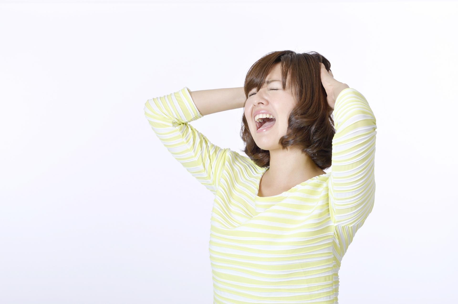 <span>2.</span>不妊症の原因①(ストレス)