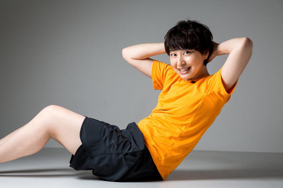 <span>4.</span>まずは下肢のトレーニング、腹筋を